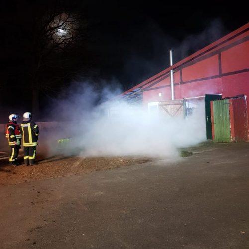 20.03.2019 – Übung mit der Feuerwehr Stelle