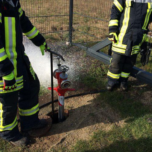 18.07.2018 – Hydrantenpflege
