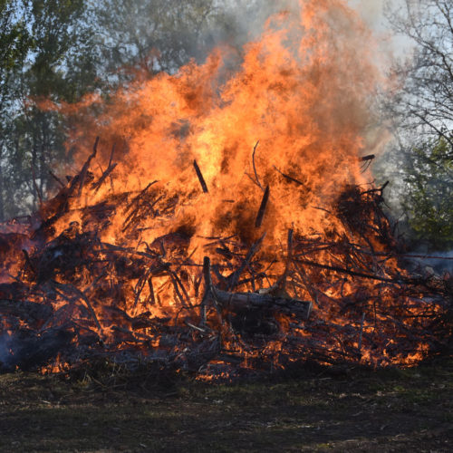20.04.2019 – Osterfeuer bei Traumwetter