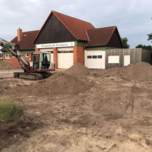 11.06.2019 – Pflasterarbeiten endlich gestartet!